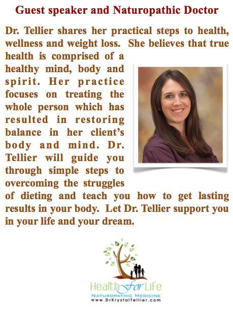 Naturopathic Doctor Krystal Tellier